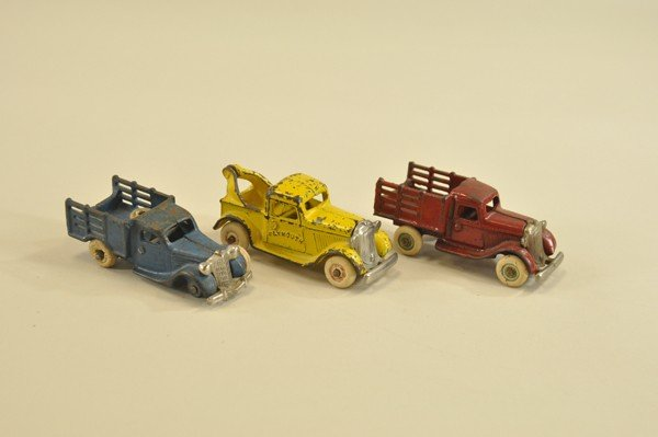 22: LOT OF THREE WORK VEHICLES