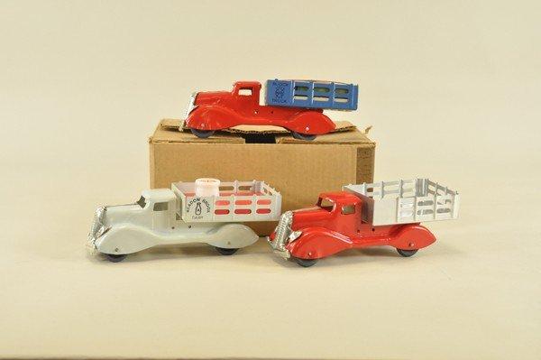 619: MARX BOXED TRUCK SET