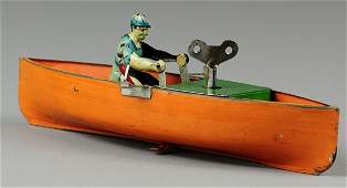 239: MAN IN ROWBOAT TOY