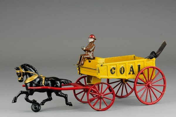 446: HUBLEY HORSE DRAWN COAL WAGON