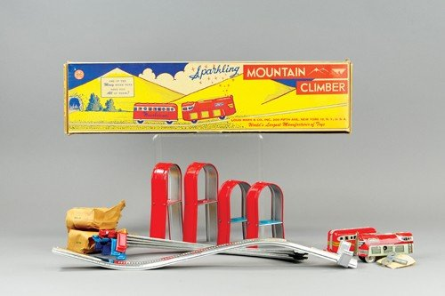 MARX MOUNTAIN CLIMBER SET