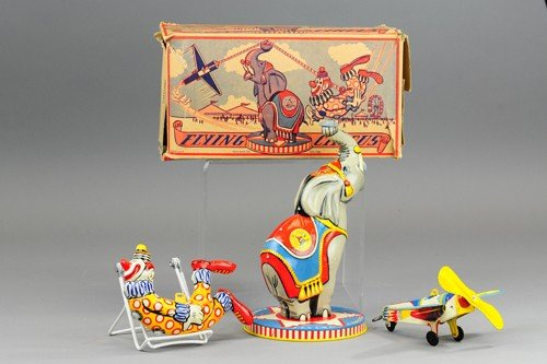 UNIQUE ART FLYING CIRCUS TOY