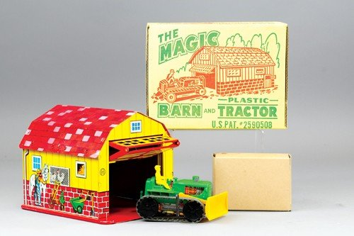MARX MAGIC BARN WITH TRACTOR