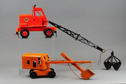 LOT OF TWO CRANE VEHICLES