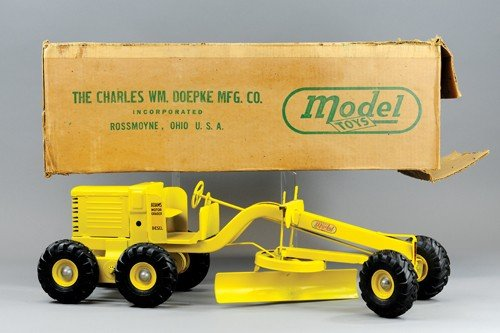 MODEL TOYS ADAMS ROAD GRADER WITH BOX