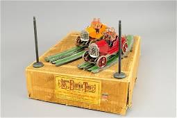 LIONEL NO. 84 BOXED RACING AUTOMOBILE SET
