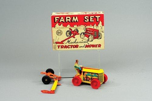 MARX BOXED FARM SET
