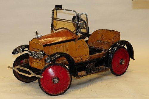 AMERICAN NATIONAL 1925 PACKARD PEDAL CAR