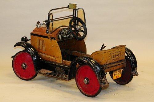 AMERICAN NATIONAL 1925 PACKARD PEDAL CAR - 3