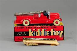 HUBLEY BOXED FIRE LADDER TRUCK