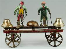 MR. FLIP AND LITTLE NEMO BELL TOY
