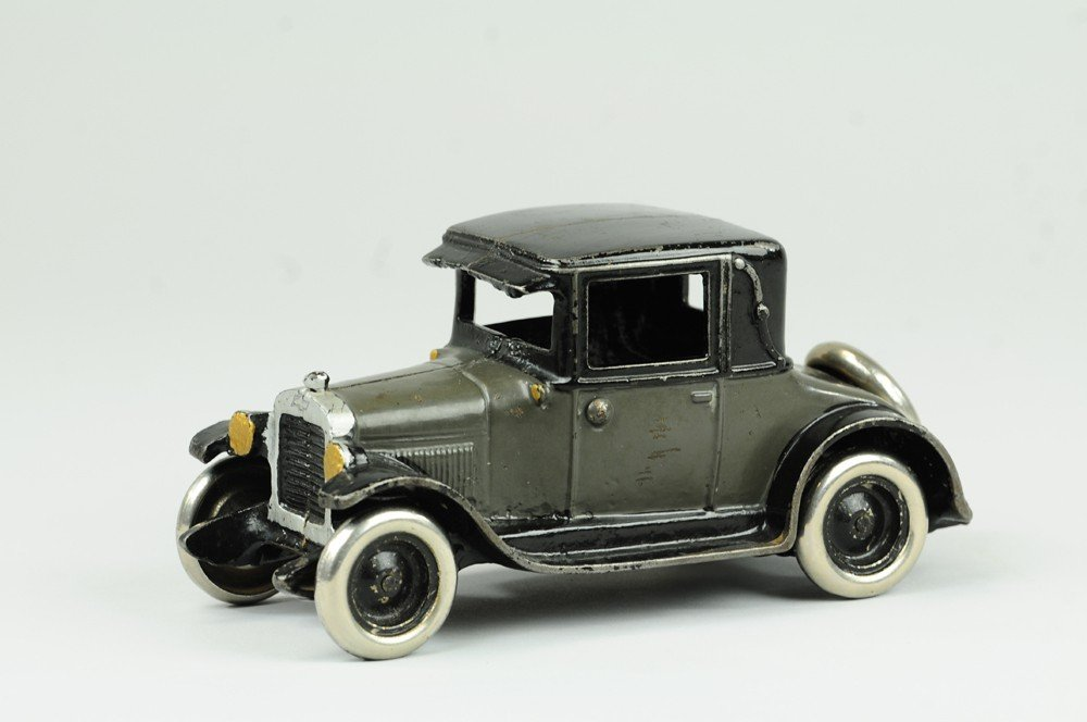 3: ARCADE CHEVY CAST IRON TOY COUPE