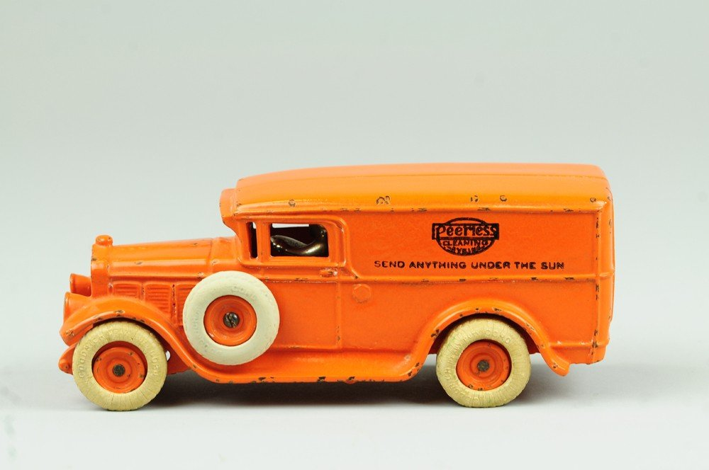 23: ARCADE 'WHITE' DELIVERY PANEL VAN WITH AD - 3
