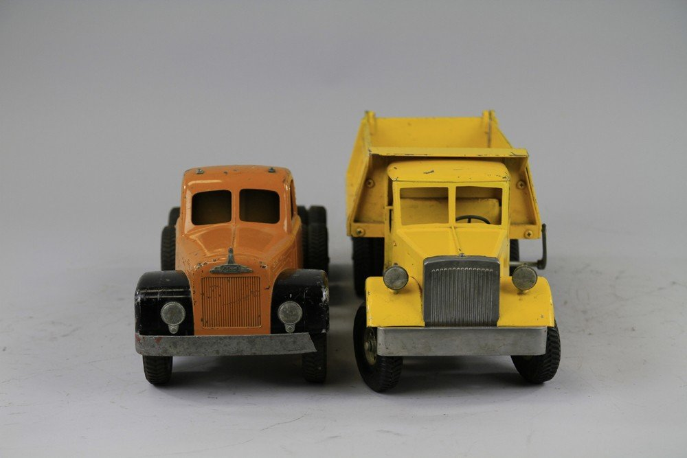 242: LOT OF TWO SMITH MILLER TOY TRUCKS - 3