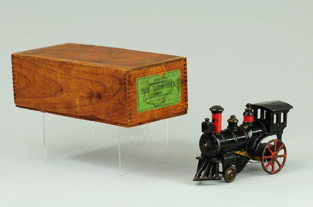 312: IVES BOXED CLOCKWORK LOCOMOTIVE