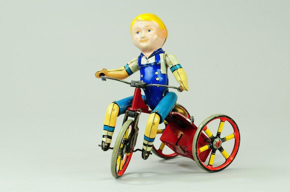 400: UNIQUE ART KIDDY CYCLIST