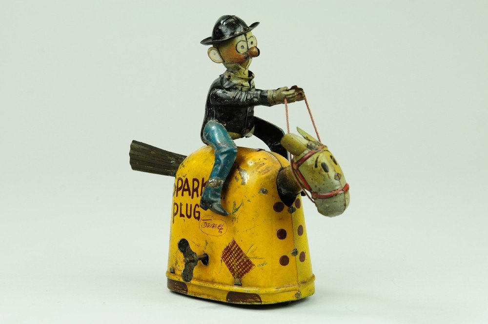 409: BARNEY GOOGLE RIDING SPARKPLUG