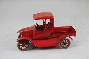 499: BUDDY 'L' RARE RED FLIVVER FORD TRUCK