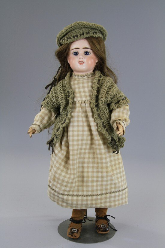 14: LATE 19th CENTURY FRENCH BISQUE CHILD DOLL
