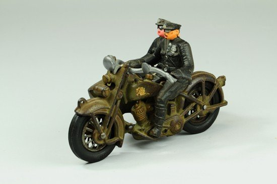 618: HARLEY DAVIDSON CYCLE WITH SIDECAR