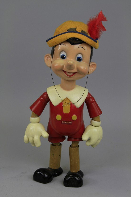 911: LARGE PINOCCHIO WOOD DOLL