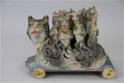 1266: CAT SKITTLES SET