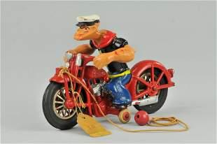 334: POPEYE ON MOTORCYCLE
