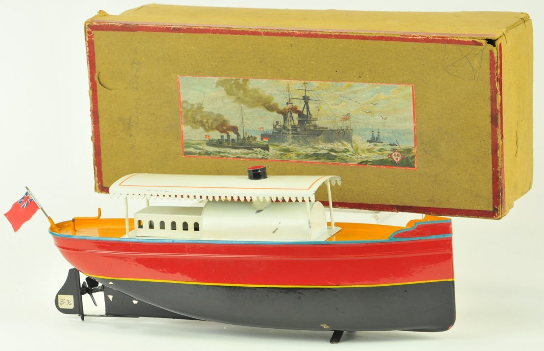 16: BING ELECTRIC DRIVEN BOXED RIVERBOAT