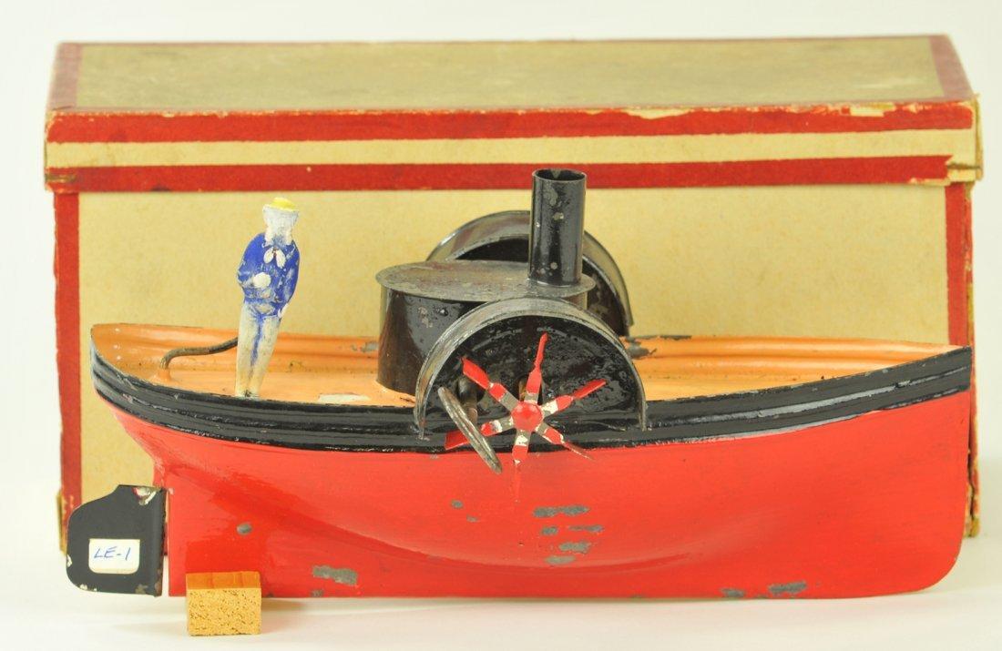 22: E.F. LEFEVRE BOXED PADDLE WHEELER