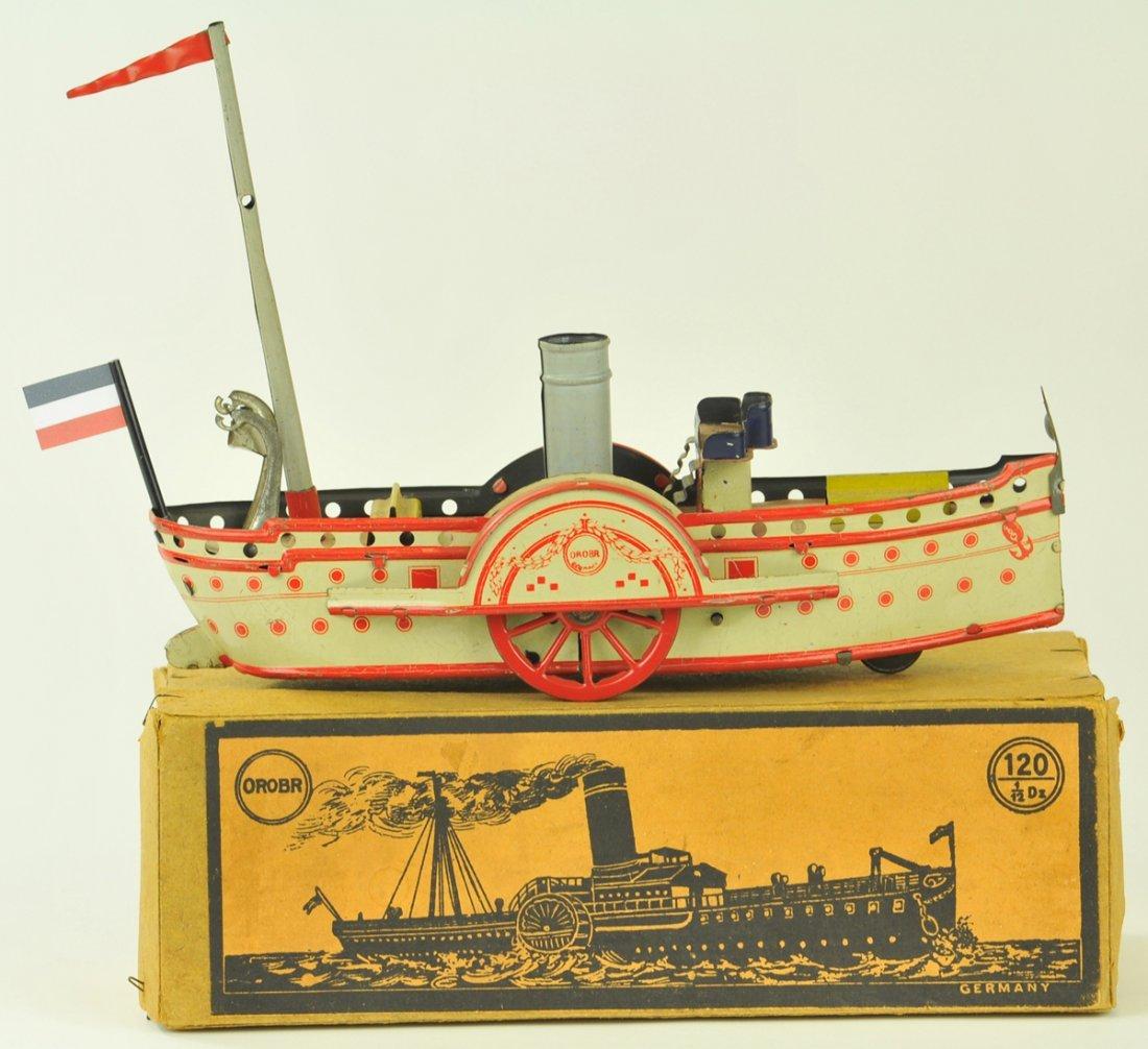 29: OROBOR PADDLEWHEELER WITH BOX