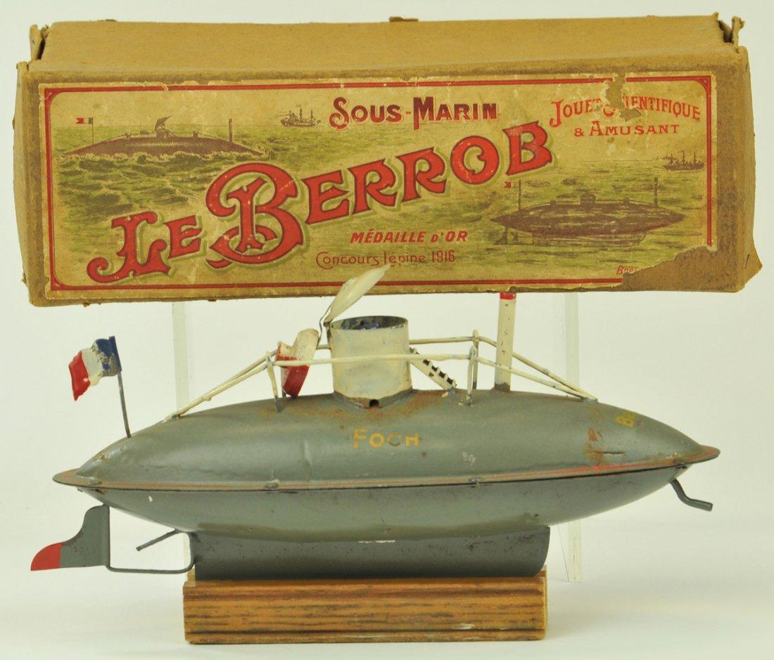 44: JOUET FRANCAIS BOXED SUBMARINE