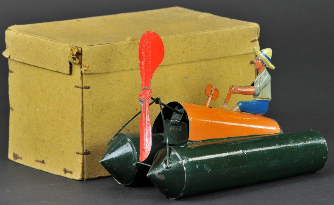 47: BING PONTOON BOAT WITH BOX
