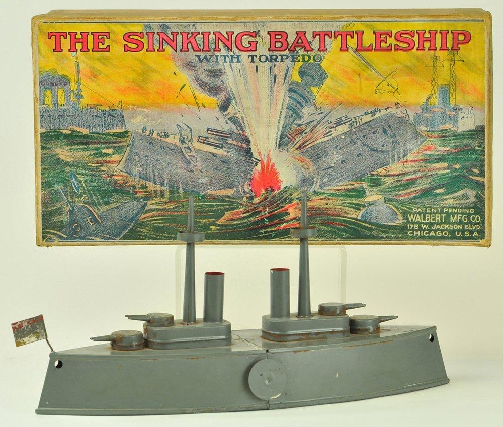 """73: THE """"SINKING"""" BATTLESHIP"""