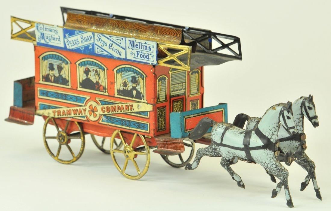 84: RICHTER HORSE DRAWN TROLLEY