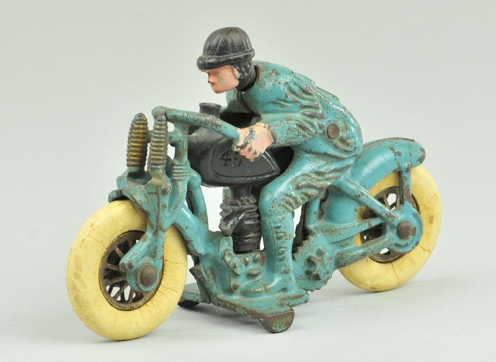 22: HILLCLIMBER MOTORCYCLE