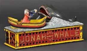 142 JONAH  WHALE MECHANICAL BANK