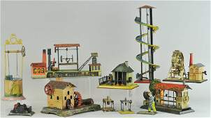 1287: LARGE GROUPING OF STEAM ACCESSORY TOYS