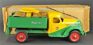 1620: BUDDY 'L' RIDER ICE TRUCK WITH BOX