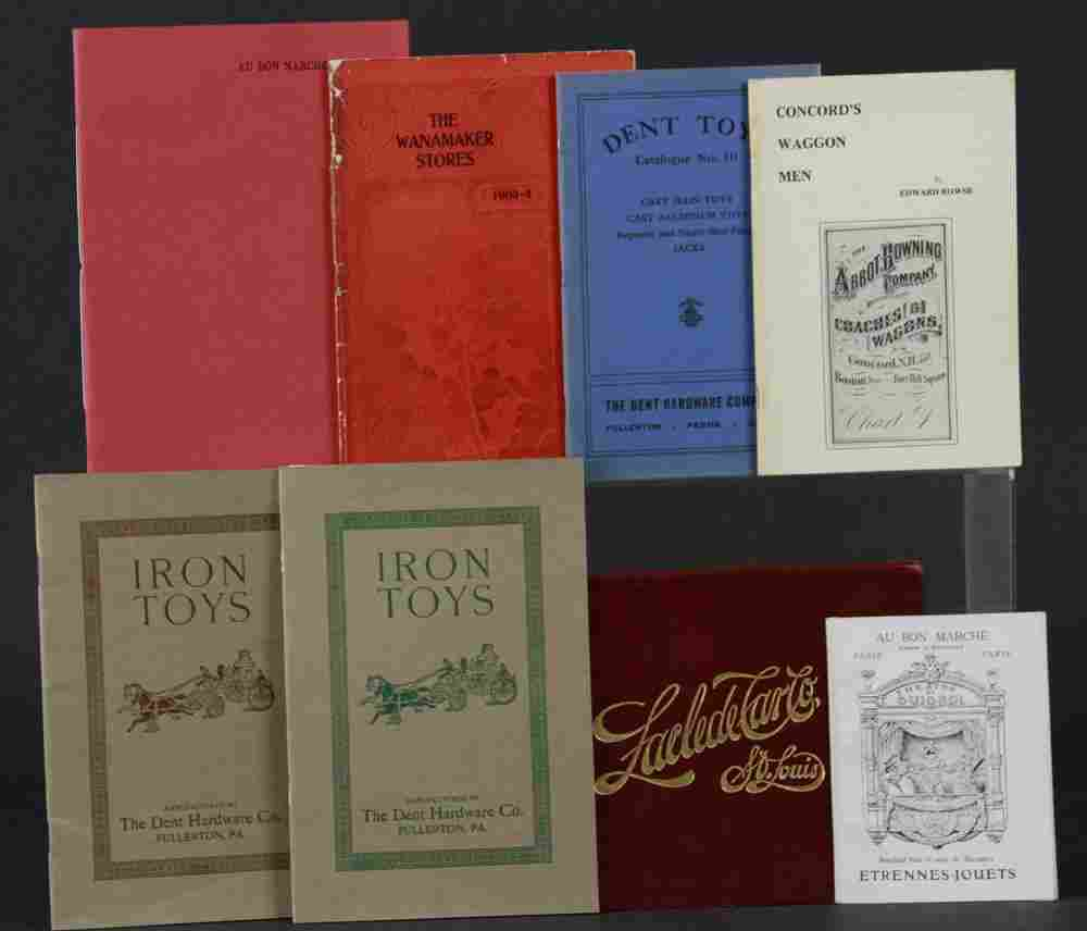 1758: GROUPING OF EARLY TOYS AND GOODS BOOKS