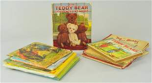 1905 EARLY GROUPING OF CHILDRENS TEDDY BEAR BOOKS