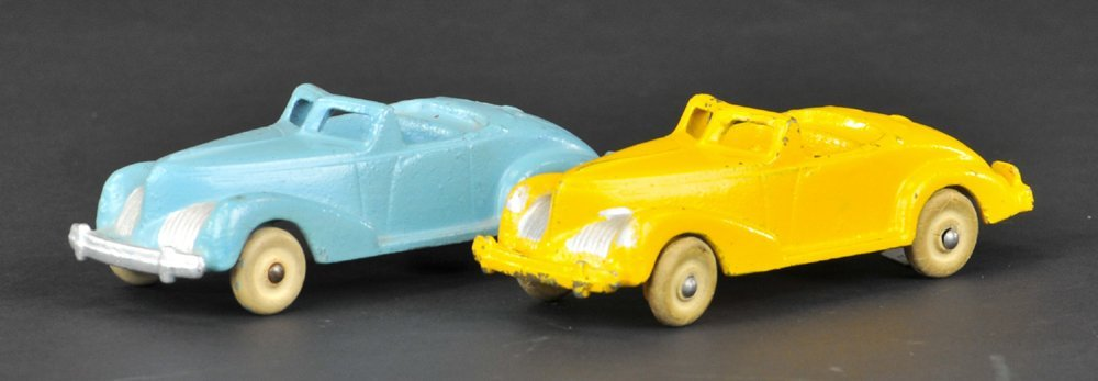 LOT OF TWO HUBLEY COUPES