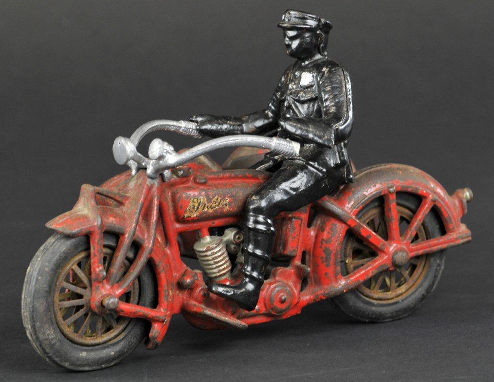 HUBLEY INDIAN SIDE CAR MOTORCYCLE