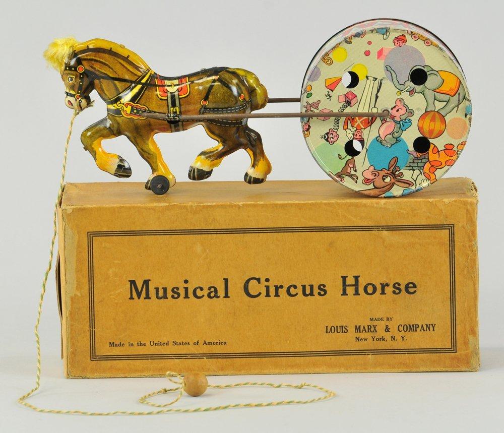 MARX MUSICAL CIRCUS HORSE