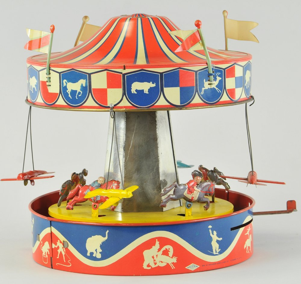 WOLVERINE CAROUSEL TOY