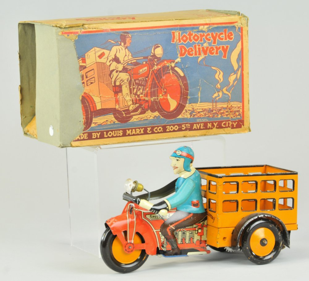 SPEED BOY DELIVERY MOTORCYCLE
