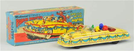 MARX DISNEYLAND PARADE ROADSTER WITH ORIGINAL BOX