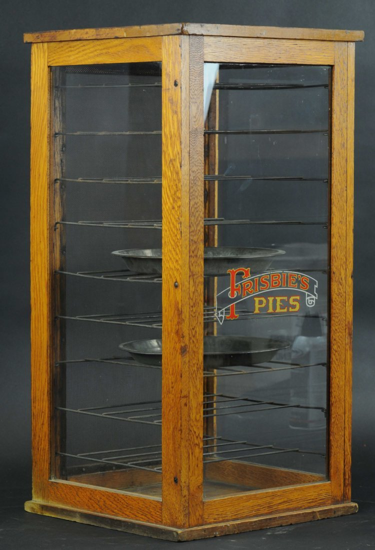 FRISBIE'S PIES DISPLAY CASE