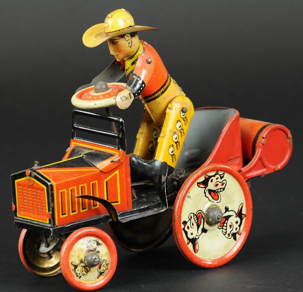 WHOOPIE CAR, COWBOY DRIVER