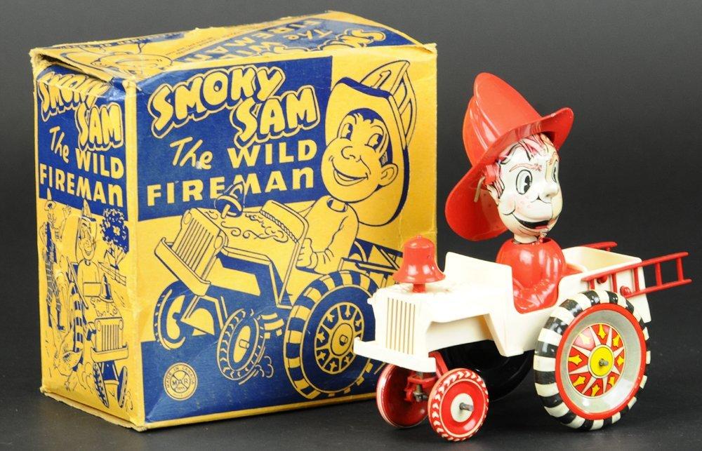 BOXED SMOKY SAM WILD FIREMAN