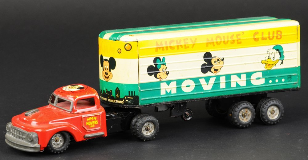 MICKEY MOUSE MOVERS TRUCK